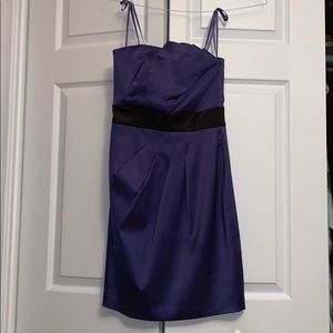 Purple and Black Max and Cleo Dress (size 4)